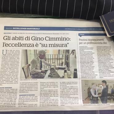 Gino Cimmino – 50 Anni della Vera Arte Sartoriale
