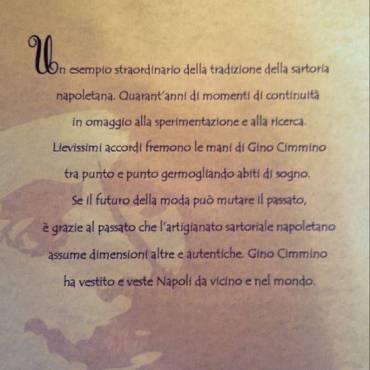 Premio Masaniello a Gino Cimmino – Sartoria Napoletana
